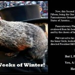 Six More Weeks of Winter!