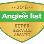 SpaceMakers Receives 2015 Angie's List Super Service Award