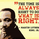 The nation observes Martin Luther King Day on Monday, January 17